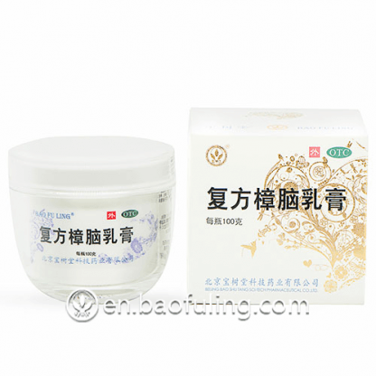 Bao Fu Ling Camphor Cream 100g